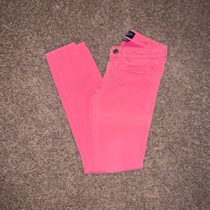 Pink American Eagle super stretch jeggings